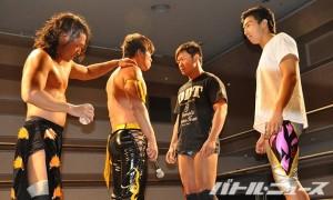 10・12札幌でKO-Dタッグ戦が決まった竹下&遠藤vsKUDO&高梨