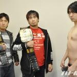 11・3横浜大会でUWA世界タッグ戦を行うイサミ&FUMAvsシバター