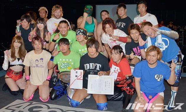 DDTドラマティック総選挙2014集合写真