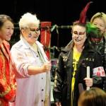 プロレスに挑戦した上杉香緒里とサポートしたダンプや堀田