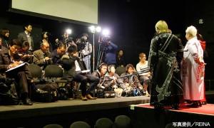 上杉香緒里のプロレス挑戦を多くのマスコミが取材