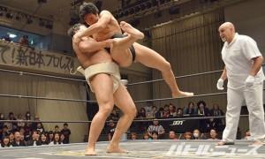 大相撲トーナメント決勝_石川vs竹下