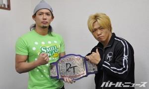 11・23仙台でEXTREME戦を行う彰人とMIKAMI