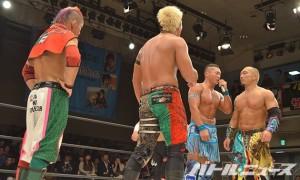12・3後楽園でツインゲート戦を行うことになった大阪06とミレニアルズ
