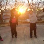 日の出とYMZ千葉メンバー
