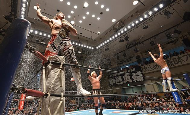 2014年の新日本プロレスを勝利で締めくくった本隊