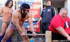 2014-12-27GENスポーツパレス餅つき大会&ファン感謝祭イベント②