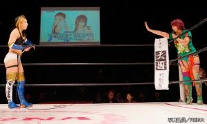 2・25カナプロで華名と志田の対戦が決定