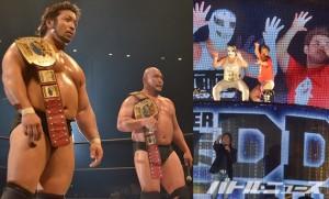KO-Dタッグを奪取した関本&岡林だが、挑戦者に名乗り上げたディーノ&ササダンゴを見て唖然