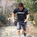 武藤戦に向け激しいトレーニングを積むKAI