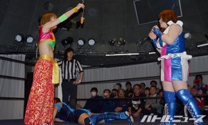 2015-3-22東京女子プロレス王子_第2試合
