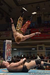 2015-3-8新日本プロレス後楽園_第1試合