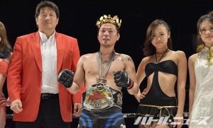 70-75kg級新王者となったランボルギーニ・ヨシノリ