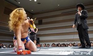 いつどこ権を行使しようとした福田だが、飯伏は帰っちゃった
