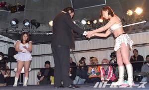ガンジョのシンデレラトーナメント出場を直訴した神田に対し、出場辞退した加藤