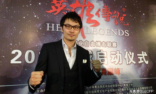 佐藤嘉洋は中国格闘界でもトップスターに!?