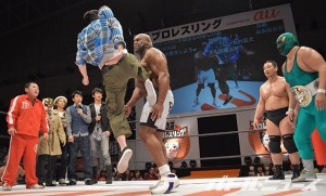 2015-4-26超プロレスリングDAY2_めちゃイケvsサップ