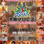 2015-5-2大阪プロレス旗揚げ16周年記念大会ポスター
