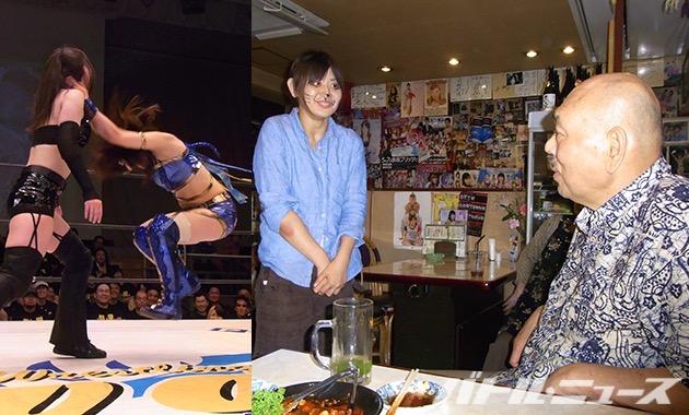 モンゴリアンチョップを得意技にしていた渋谷がキラーカンさんに引退の挨拶