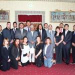 2013年5月末にZERO1とネパール支援者でネパールのラムバラン・ヤーダブ大統領を表敬訪問