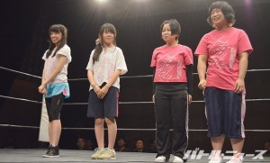 2015-5-23東京女子に入った練習生4人