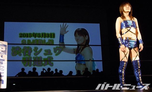 2015-5-3引退の10カウントゴングを聞く渋谷シュウ