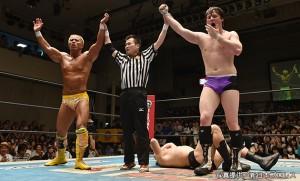 2015-5-30新日本プロレス後楽園_第1試合