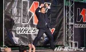 2015-5-5W1後楽園_W-1の新CEOとして登場した高木三四郎
