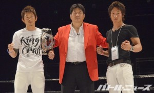 7・19『THE-OUTSIDER-第36戦』で65-70kgタイトルマッチを行う啓之輔と朝倉未来