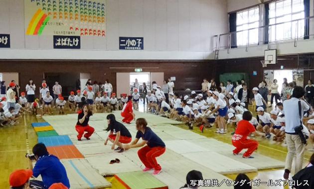 仙女_講演&親子トレーニングの指②