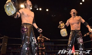2015-6-17ユニオン新木場_UWA世界タッグを奪取したバラモン兄弟