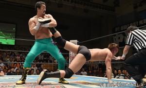 2015-6-28新日本プロレス後楽園_第1試合