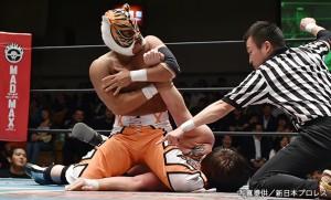 2015-6-5新日本プロレス後楽園_第2試合