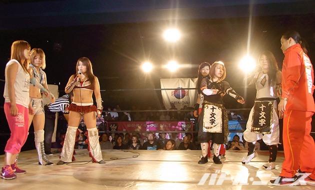 2015-7-30仙女新宿大会_仙女vsスターダム全面対抗戦突入か?