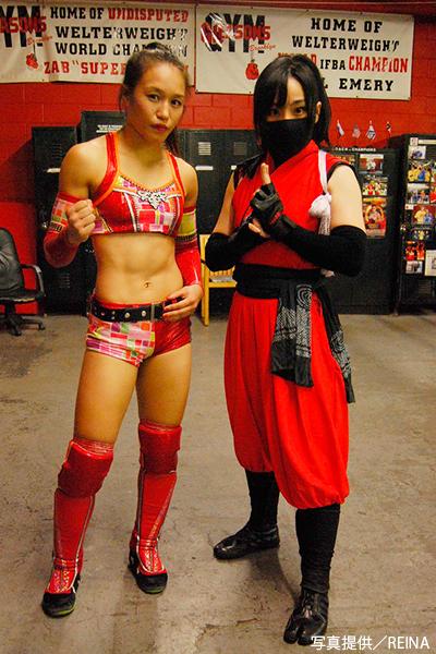 ニューヨーク・WUWに出場したREINAの朱里と坂本茉莉①