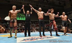 2015-8-11新日本プロレス後楽園_第4試合