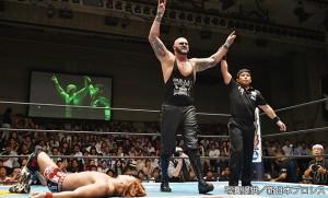 2015-8-11新日本プロレス後楽園_第5試合