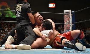 2015-8-11新日本プロレス後楽園_第6試合