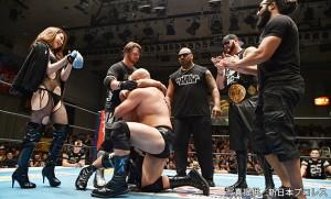 2015-8-12新日本プロレス後楽園_第5試合