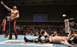 2015-8-12新日本プロレス後楽園_第7試合