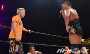 2015-8-16ドラゴンゲート大田区_戸澤は鷹木からのタッグリーグ出場の誘いを拒否