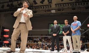 2015-8-18カッキーエイド後楽園_前田日明が熱い檄