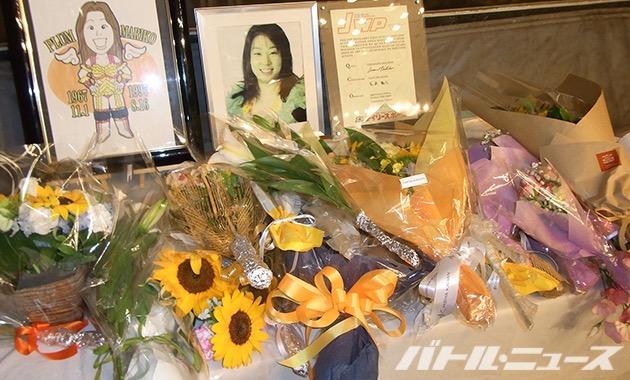 JWP_プラム麻里子さんの命日に行われた後楽園ホール大会