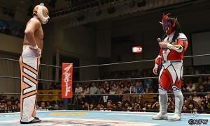 2015-9-11新日本プロレス後楽園_第2試合