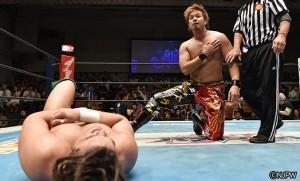 2015-9-11新日本プロレス後楽園_第3試合