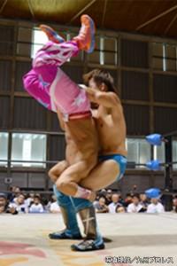 2015-9-21九州プロレス鹿児島_第5試合