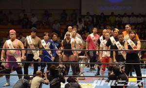 2015-910全日本プロレス後楽園_王道トーナメント入場式