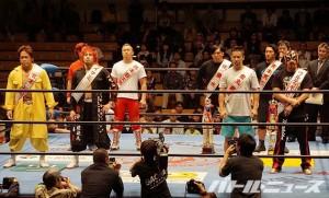 2015-10-12全日本プロレス後楽園_ジュニアタッグリーグ戦入場式