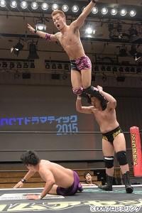 2015-10-7DDT後楽園_第1試合