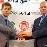 K-1ワールドGP_11・21代々木第二大会で中島弘貴vsヒョードル推薦選手
